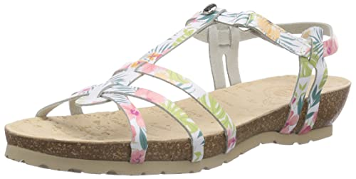 17753a0e Panama Jack Dori Tropical B1 - Zapatos para Mujer, Color weiß (Blanco/White),  Talla 42: Amazon.es: Zapatos y complementos