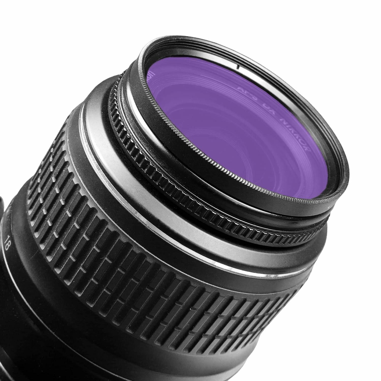 Panasonic Lumix DMC-GH4 5D Mark II T3 T2i Fuji X-A1 e piu.. smardy Filtro FLD Fluorescente 58 mm per Nikon Df Canon T1i Canon EOS 1DX + panno di pulizia in microfibra