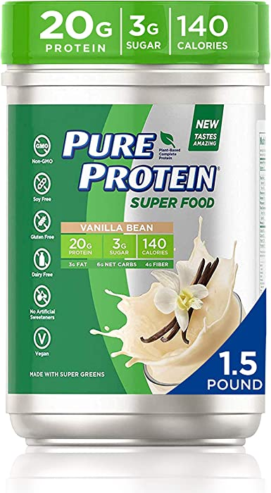 Top 10 Pure Protein Super Food