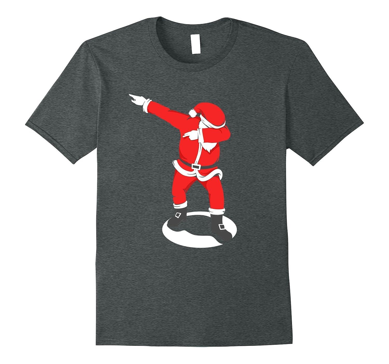 Dabbing Santa Christmas Shirt-FL