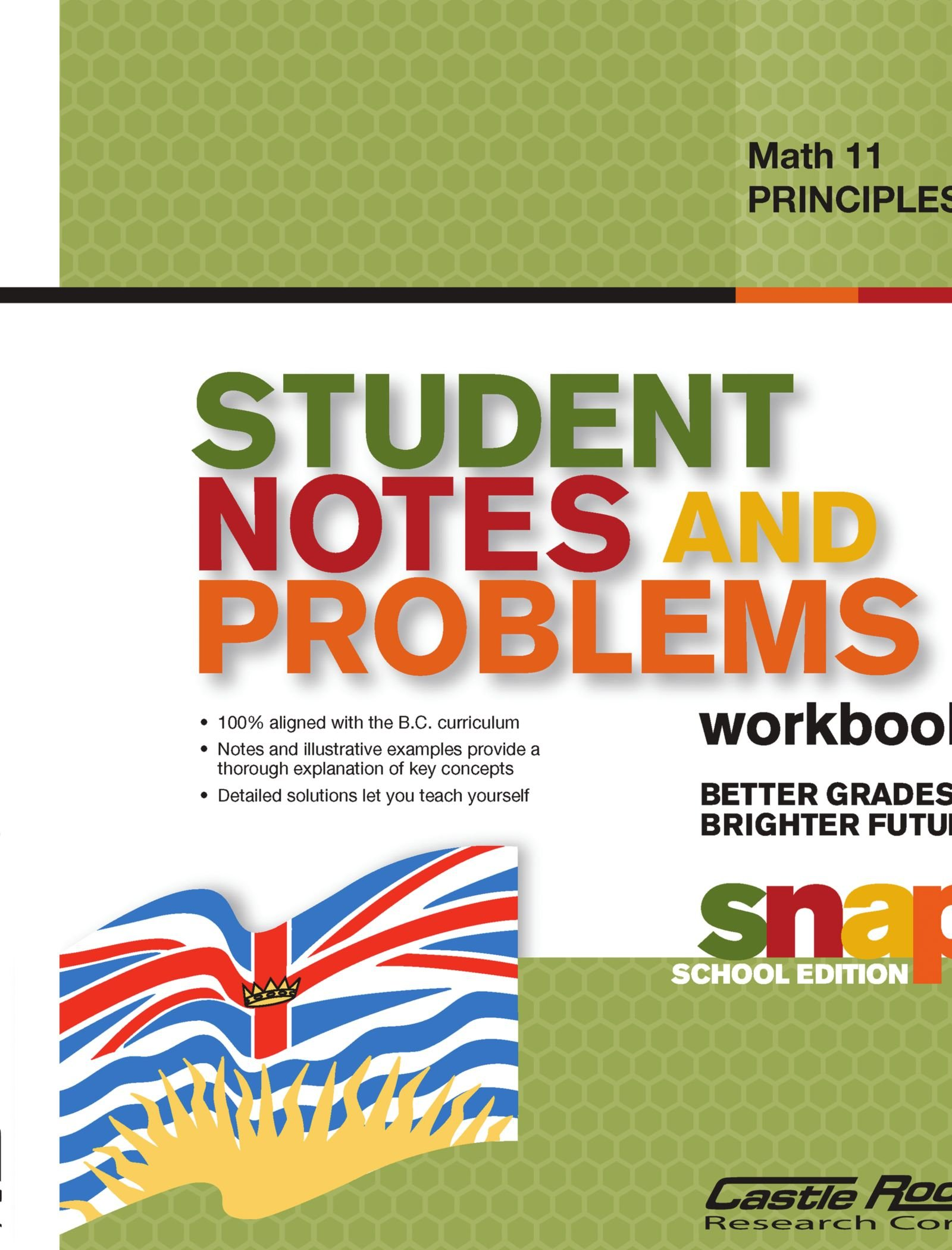 Read Online Student Notes and Problems Principles of Math 11 pdf