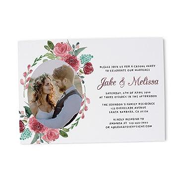 amazon com photo wedding reception invitation ideas marriage