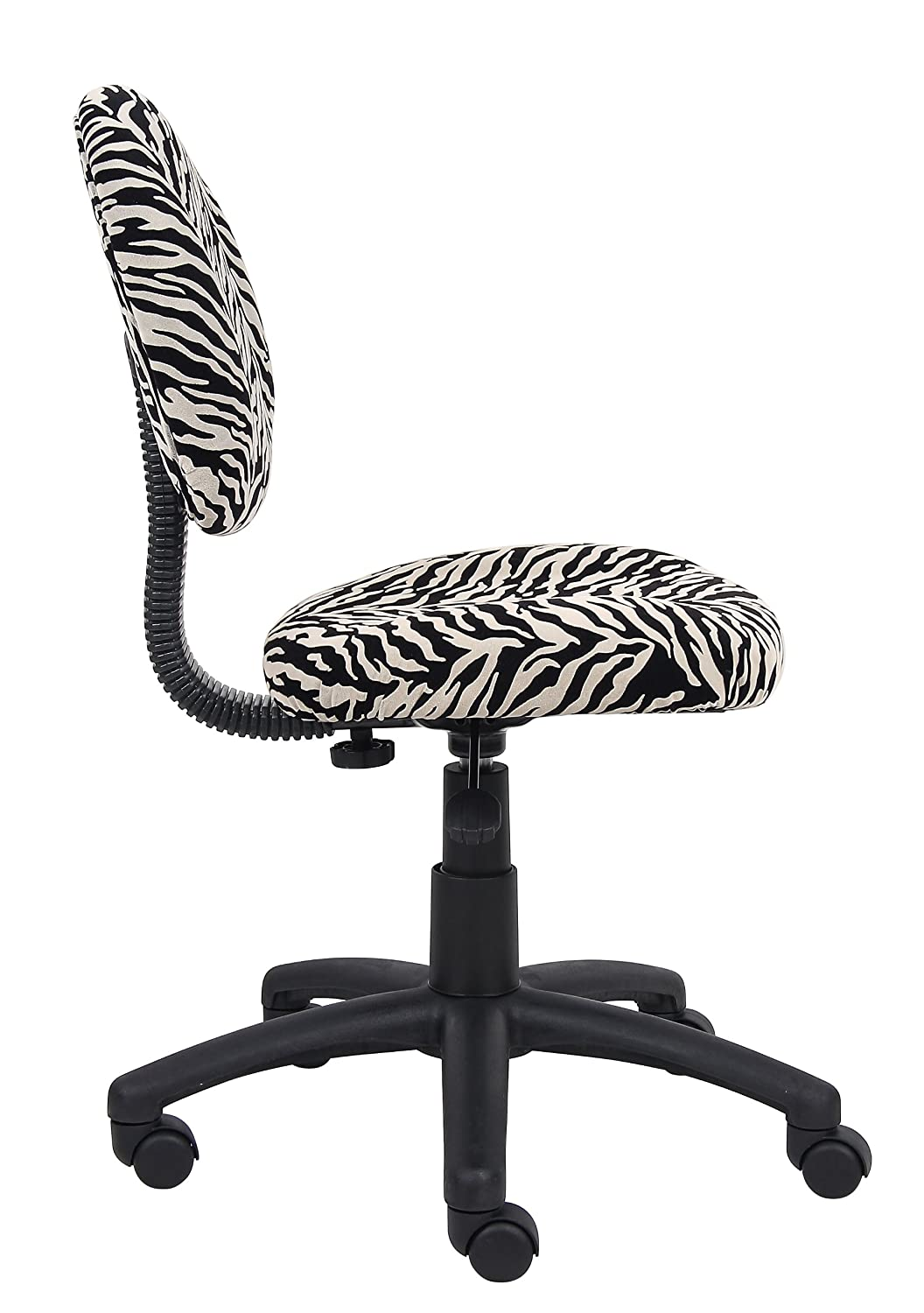 Marvelous Amazon.com: Boss Office Products B325 ZB Perfect Posture Delux Microfiber Task  Chair Without Arms In Zebra: Kitchen U0026 Dining