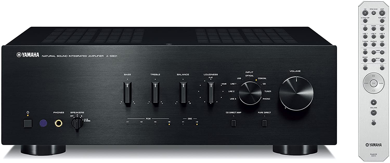 Yamaha A-S801BL Stereo Amplifier - best natural sound amplifier