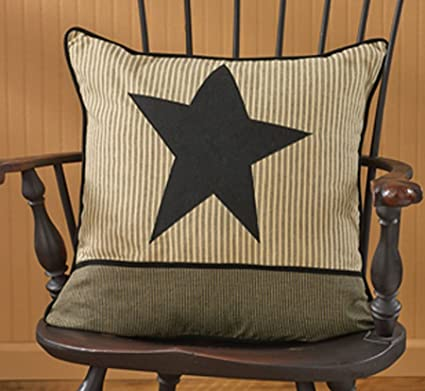 Amazon Primitive Star 40 Pillow Cover Home Kitchen Inspiration Primitive Pillow Covers