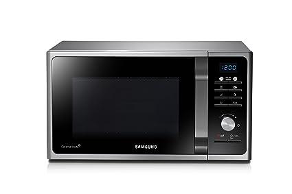 Samsung MG23F301TCS Encimera 23L 800W Plata - Microondas (335 x 324 x 211 mm) color plata: Amazon.es: Hogar