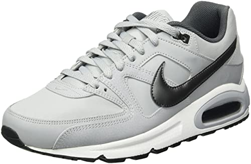 official photos f1849 fbf87 Nike Air Max Command Leather Scarpe da Corsa Uomo, Grigio (Wolf Mtlc Dark  Grey