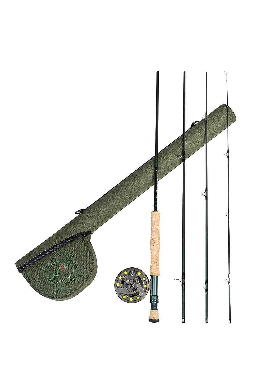 割引クーポン Adamsbuilt B01L3LSRS6 Fly Fishing 4 Outfit with 8重量ロッド( 4 Piece Piece )、9 '、グリーン B01L3LSRS6, 玄海町:a2d3fe79 --- kickit.co.ke