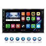 Atoto 7 HD Touchscreen 2Din Navigazione Auto Android stereo - QuadCore auto intrattenimento multimediale W/FM/RDS Radio, WiFi, BT, Specchio link, e più (no Lettore DVD.)