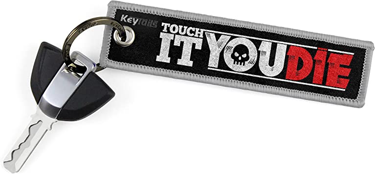 But Did You Die? Motorcycle Jeep Offroad KEYTAILS Keychains Premium Quality Key Tag for Cars