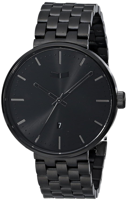 Vestal ros3 m002 Roosevelt Metall Armbanduhr – Schwarz-gebÜrstet