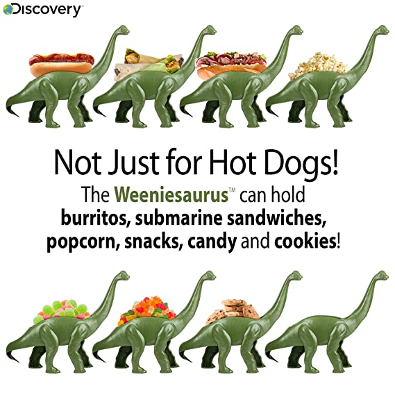 Amazon.com: Discovery Weeniesaurus Snack & Meal Holder ...