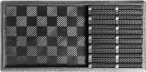 Schmutzfangmatte Fußmatte Türmatte 40x60cm schwarz Schuhabstreifer Grob Fein