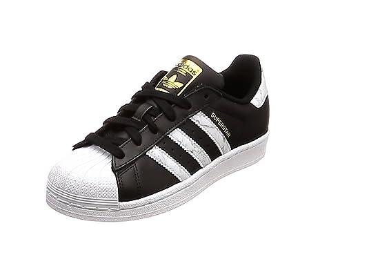 half off d0259 24580 adidas Superstar Scarpe da Fitness Bambino, Nero (Negro 000) 36 EU