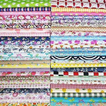 7c676652a428c8 25Pcs Baumwollstoff Patchwork Stoffe DIY Gewebe Quadrate Baumwolltuch  Stoffpaket zum Nähen mit vielfältigem Muster 30x30cm Neue