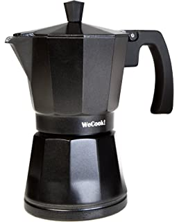 WeCook 30109 Cafetera Italiana Aluminio Inducción, Vitrocerámica y ...