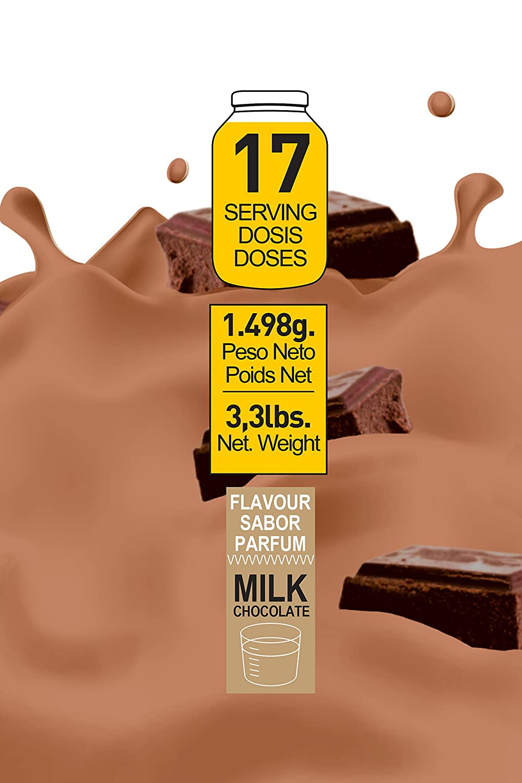 Genetor 1,5 Kg. Chocolate - Matriz para la ganancia de fuerza, masa y definición muscular Sustituto de Comidas o Post-Entreno: Amazon.es: Salud y cuidado ...