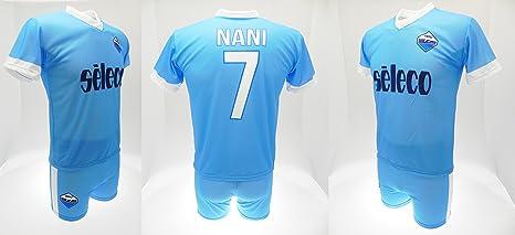 Completo Nani Lazio 2018 Nuovo Logo Ufficiale stagione 2017/2018 ...