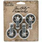 Tim Holtz Idea-Ology Mini Pulley Wheels TH