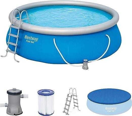 Limpiafondos piscina hinchable