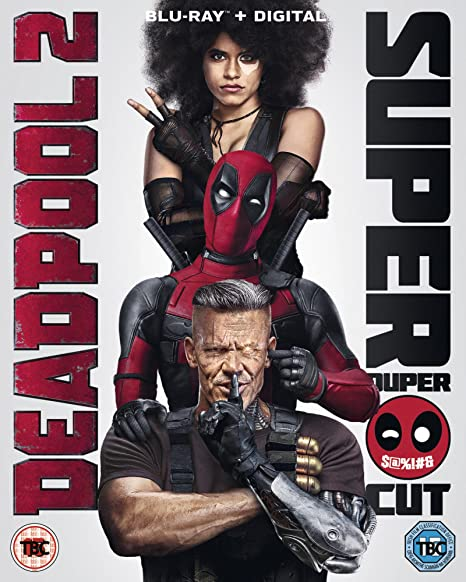 Deadpool 2 On Blu-ray