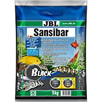 JBL Sansibar DARK 5 kg, Dark substrate for freshwater and saltwater aquariums