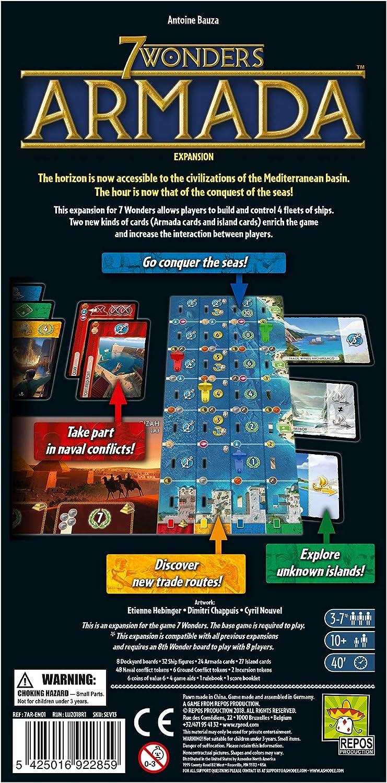 Repos Production REP7AR-US01 7 Wonders: Armada, varios colores , color/modelo surtido: Amazon.es: Juguetes y juegos