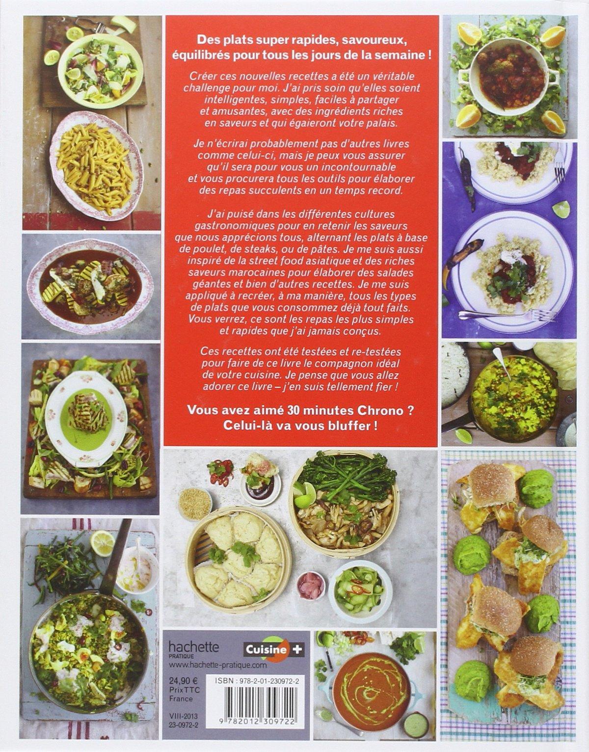 amazon.fr - jamie en 15 minutes: délicieux, généreux, super rapide ... - Creer Un Livre De Recette De Cuisine
