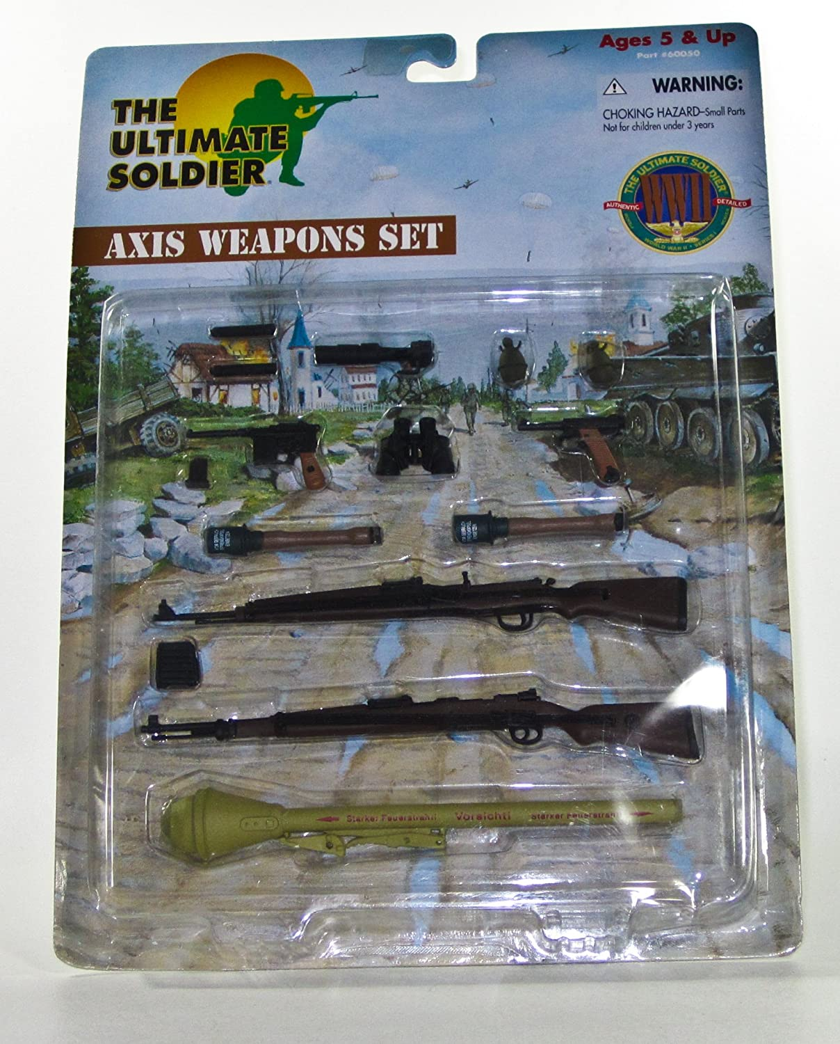 The Ultimate Soldier  Axis Weapons Set (60050) by Ultimate Soldier