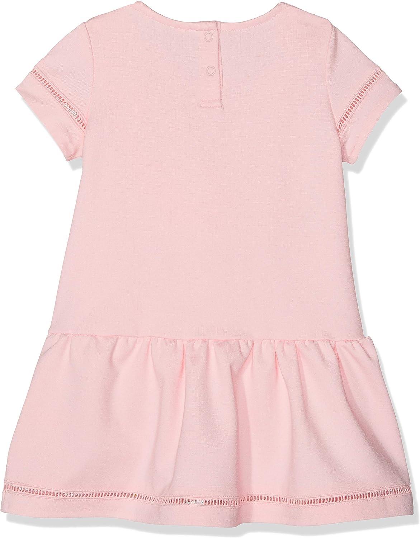 Tommy Hilfiger Baby-M/ädchen Drop Waist Ladder Lace Dress S//S Kleid