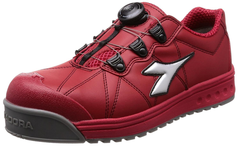 [ディアドラユーティリティ] 作業靴 JSAA認定 プロスニーカー フィンチ FC383 B01MSYH9OU 26.5 cm 3E|レッド/シルバー/レッド レッド/シルバー/レッド 26.5 cm 3E