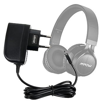 DURAGADGET Cargador (2 Amperios) para Auriculares Mpow Thor ...