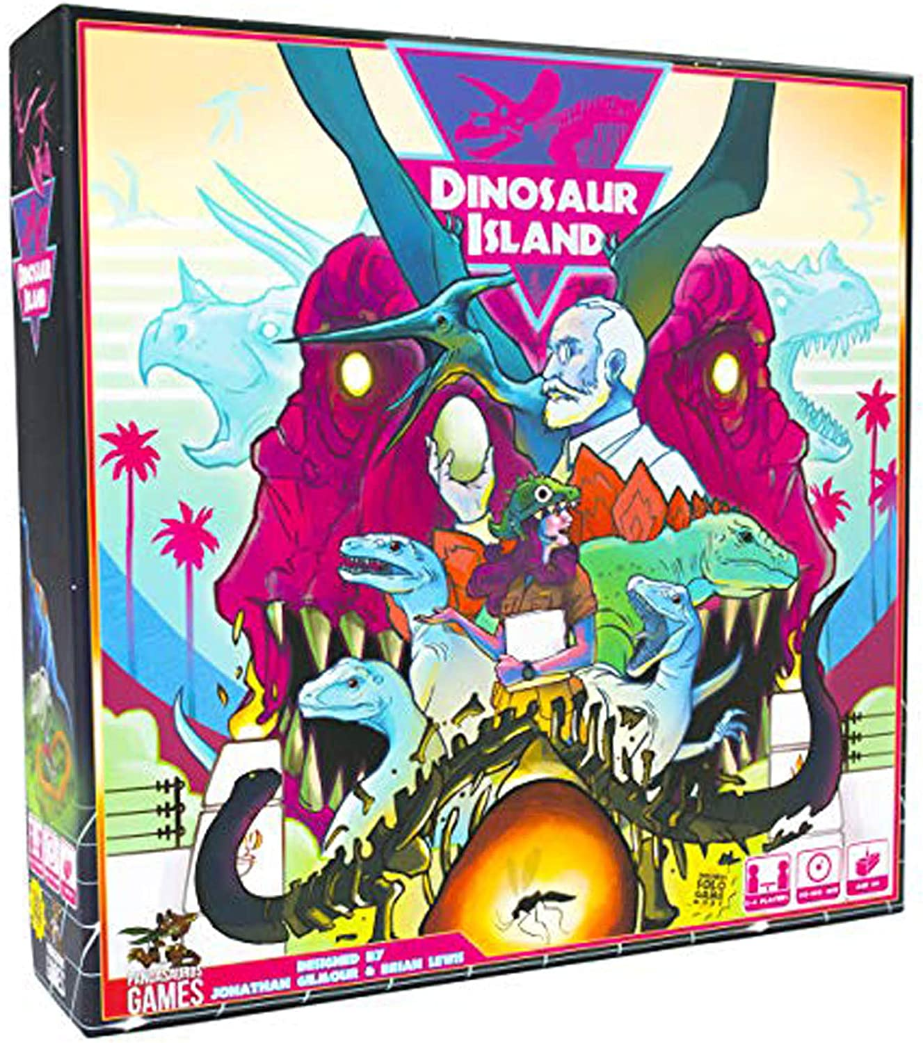 Pandasaurus Games Dinosaur Island - English: Amazon.es: Juguetes y ...
