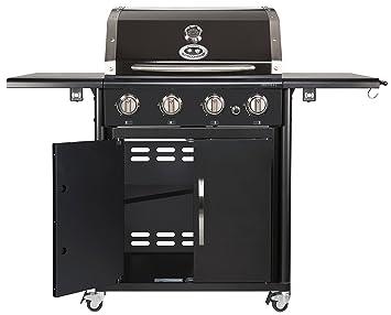 Ersatzteile Für Gasgrill Outdoorchef : Outdoorchef canberra 4g schwarz bbq gasgrill grillstation 4 brenner