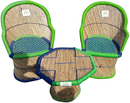 Ecowoodies Aster Garden / Lawn / Outdoor Chair Table Set