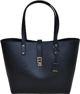 amazon com michael kors women s bedford leather top handle bag tote rh amazon com