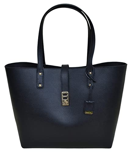 22f7ebb869aa3 Amazon.com  Michael Kors Karson LG Carryall Tote Leather Black  (35T8GKRT3L)  Shoes