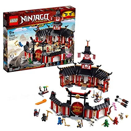Amazon.com: Ninjago Legacy Monastery of Spinjitzu Building ...