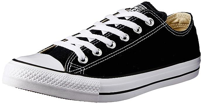 Converse Chuck Taylor (Chucks) All Star Ox Sneaker Unisex-Erwachsene Schwarz