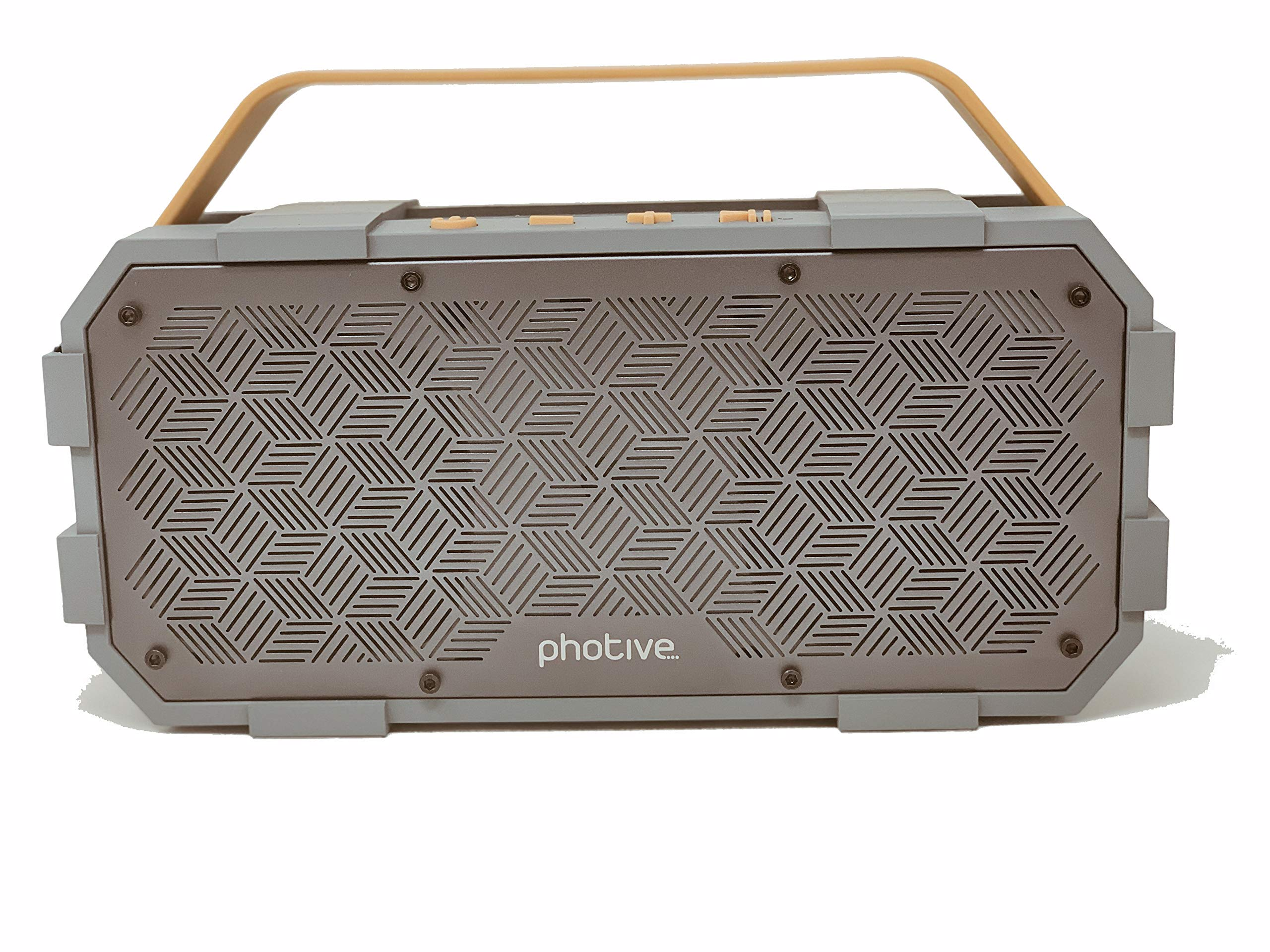 Photive Bluetooth Speaker | M90 XLarge Portable Wireless | Built-in Subwoofer Waterproof Shockproof 20-Watts Extreme Audio Power | IPX5 Water Resistant Indoor Outdoor Stereo Beach Pool Party Boombox by Fotives