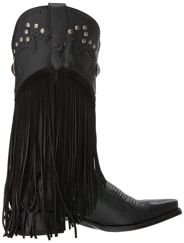 Roper Women's Concha Western Boot B06X99M2RN 7.5 D US|Black