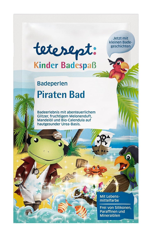 tetesept baño perlas Piratas baño (Pack de 8, 8x 60g) 21033 1