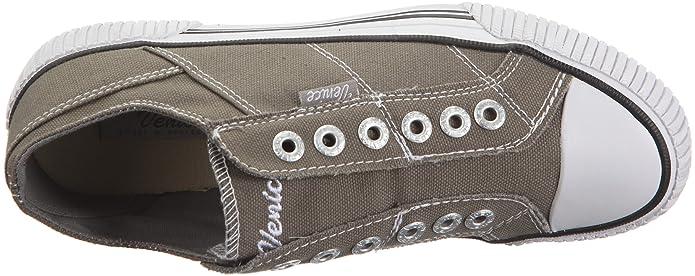 Venice Melmac 500223 - Zapatillas de tela para mujer, color gris, talla 45