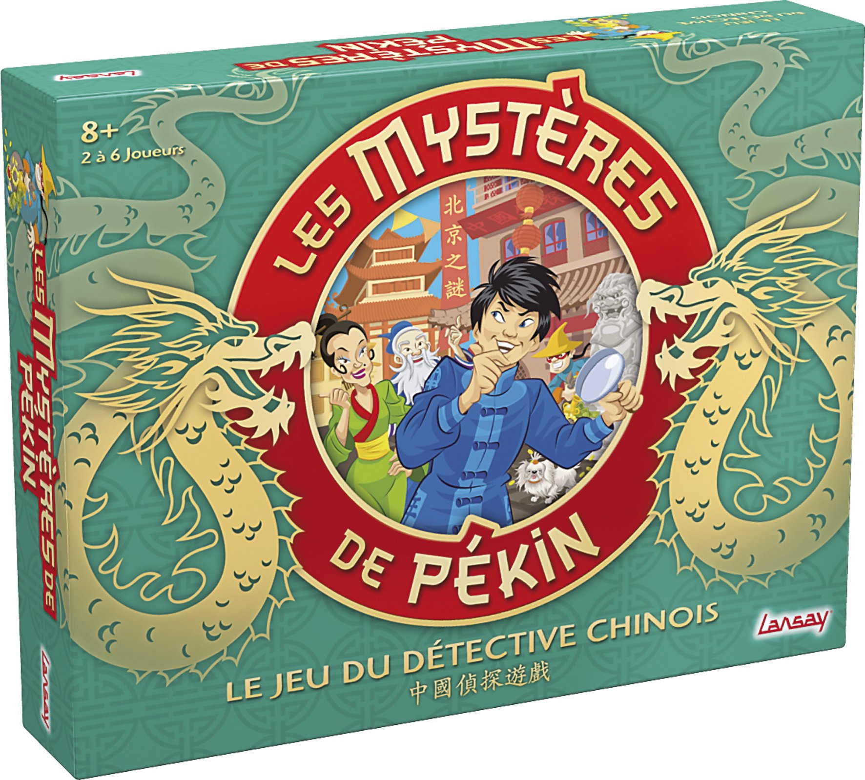Lansay - 75024 - Jeu de Société - Les Mystères de Pékin product image
