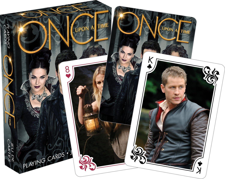 Once Upon a Time escenas Juego de 52 cartas de juego (+ cartas) (nm): Amazon.es: Juguetes y juegos