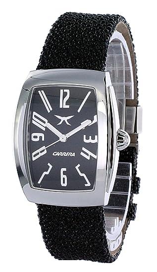 Carrera Reloj Analogico para Mujer de Cuarzo con Correa en Cuero cw57642.103011: Amazon.es: Relojes