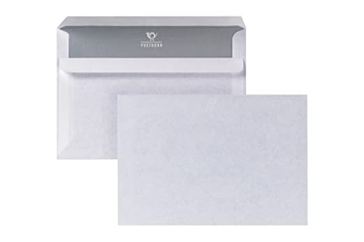 9 opinioni per Bong Posthorn 1200621- Buste da lettere autoadesive formato C6, interno grigio