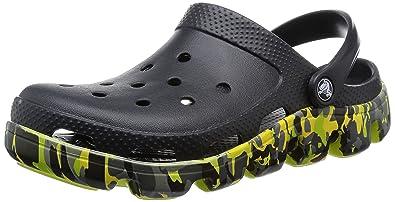 1b68f1d9dfba Crocs Men s Black Clogs and Mules - M13  Buy Online at Low Prices in ...