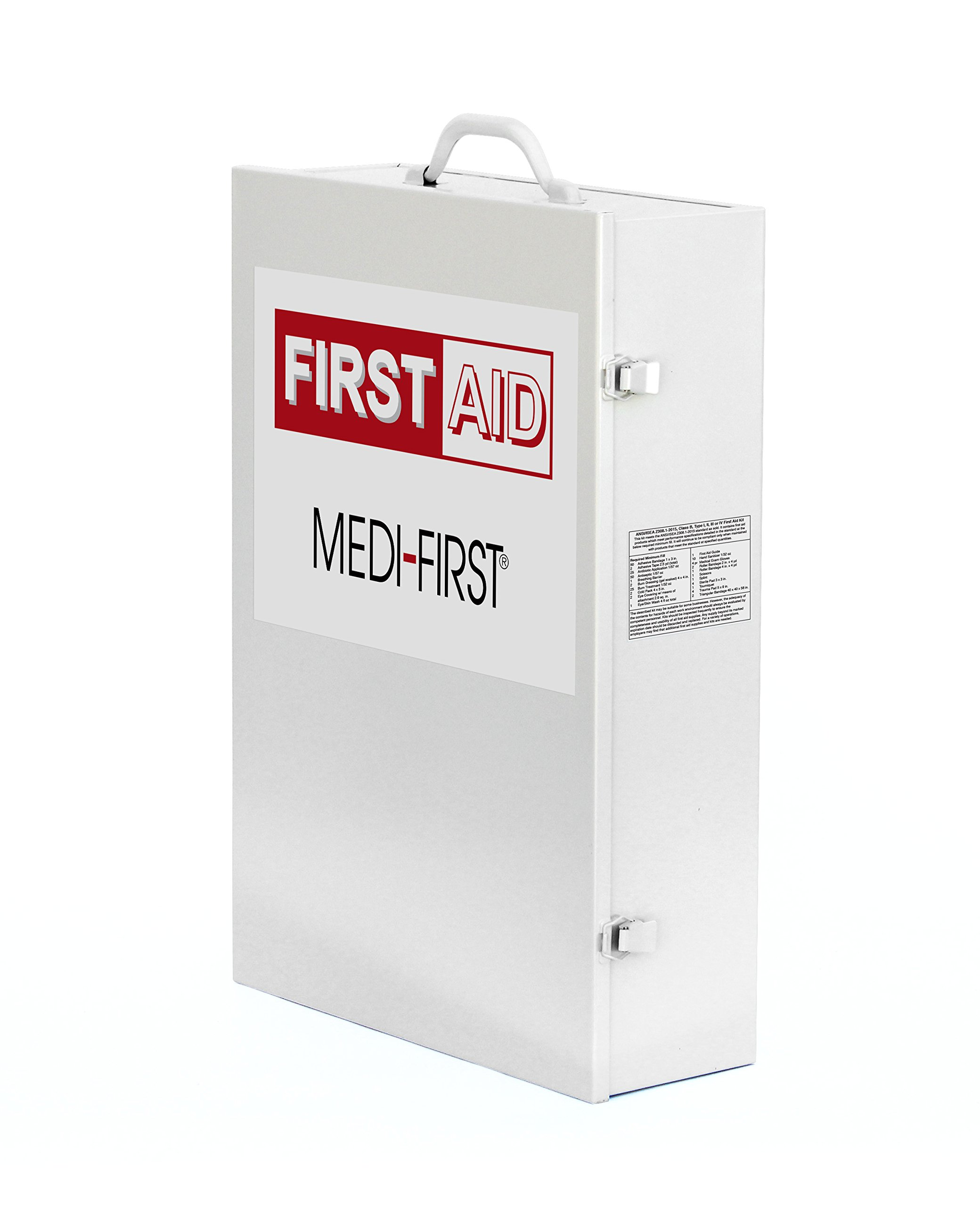 Medique Products 734ANSI Filled Four Shelf First Aid Kit by Medique (Image #1)