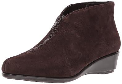 Aerosoles Women's Allowance Ankle Boot, Dark Brown Suede, ...